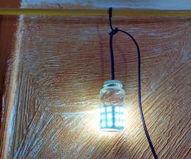小玻璃罐灯