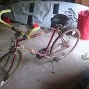 Road Bike Converted to a Comfort Bike