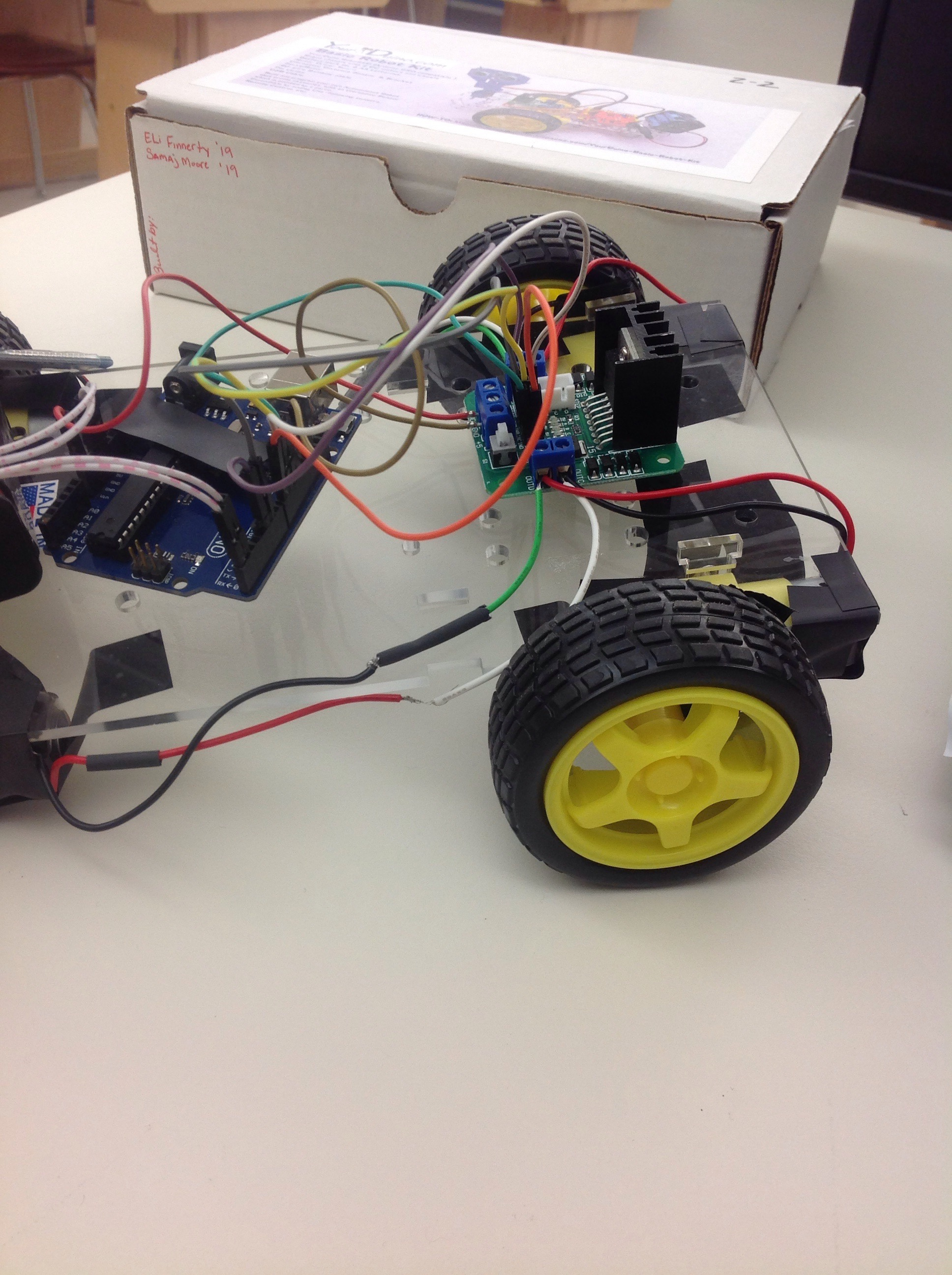 Picture of Wheels and Motors