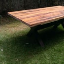 Recyled Timber Dining Table