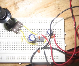 Low cost LM386 based guitar amplifier