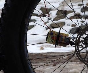 Intel Edison Fat Bike Tire Analyzer