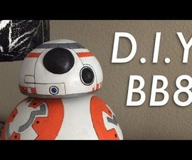 Make BB8 From Air Dry Clay