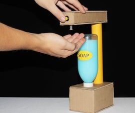 HOW TO MAKE ELECTRIC SOAP DISPENSER (DIY)