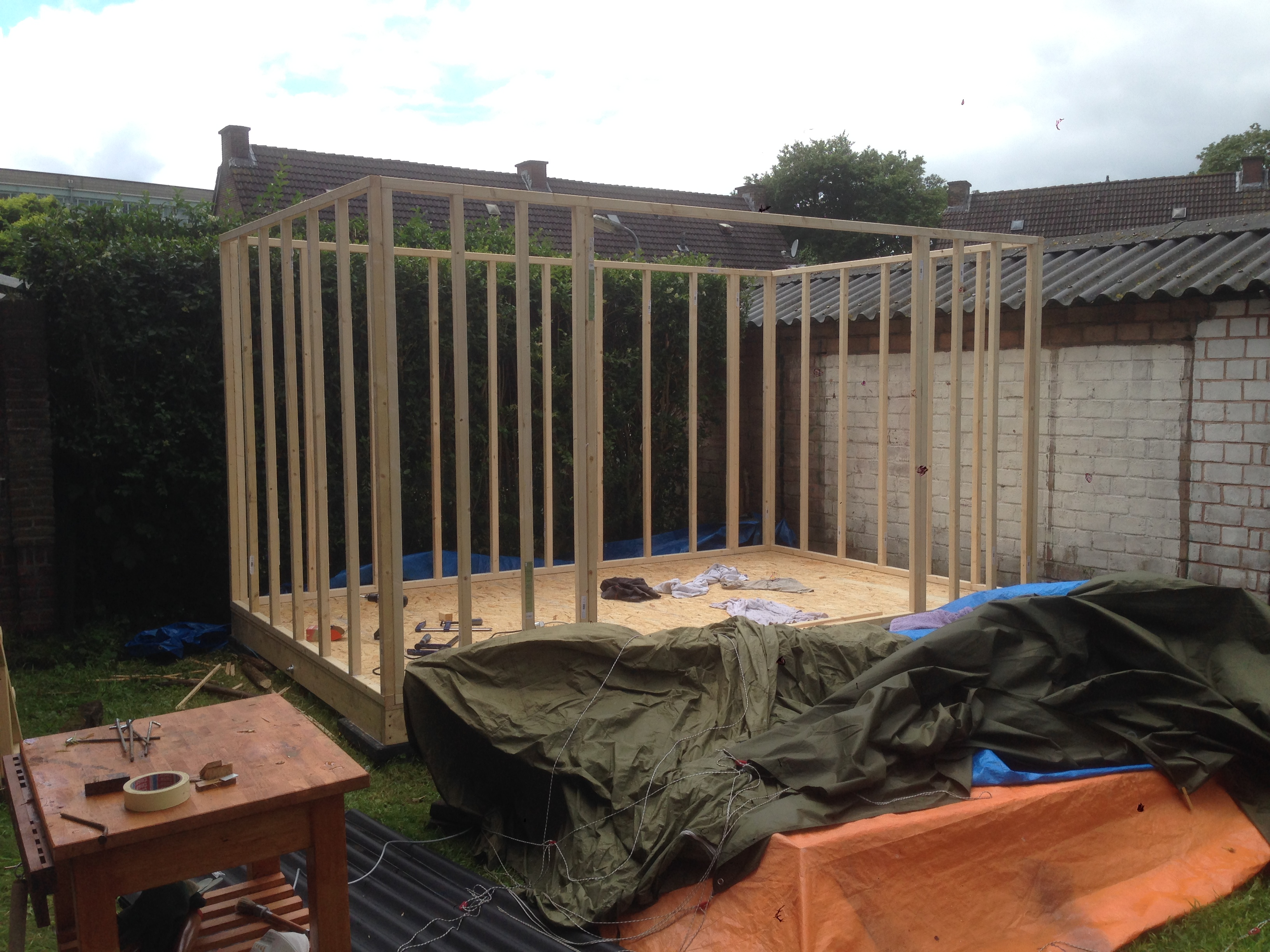 Picture of Erecting Stud Walls