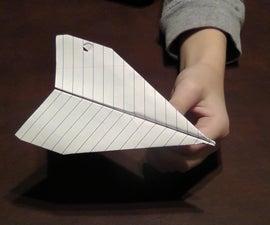 "How to Make the ""Minotaur"" Paper Airplane"