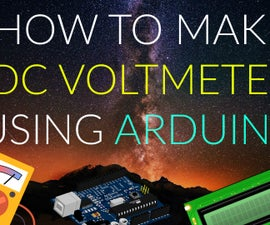 How to Make Simple DC Voltmeter Using Arduino UNO