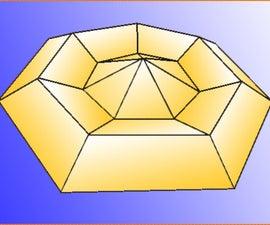 Cardboard Frisbee