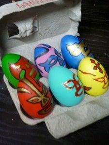 Luchador Easter Eggs