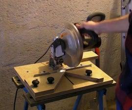 Chop Saw Base - Mitre Saw Modification