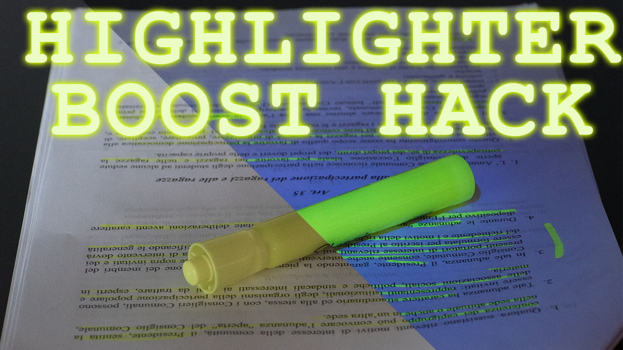 Picture of Highlighter BOOSTER - How to Build One