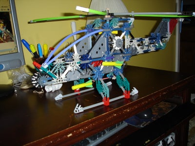 Some of  My Knex Weapons 2