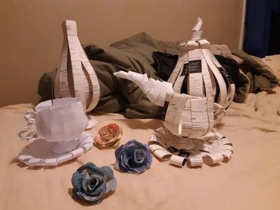 Paper Tea Party Set!