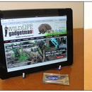 Make a fab iPad/tablet stand using a plate stand and Sugru!