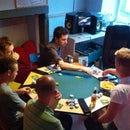 Easy 8 Seat Poker Table Top with Lighting