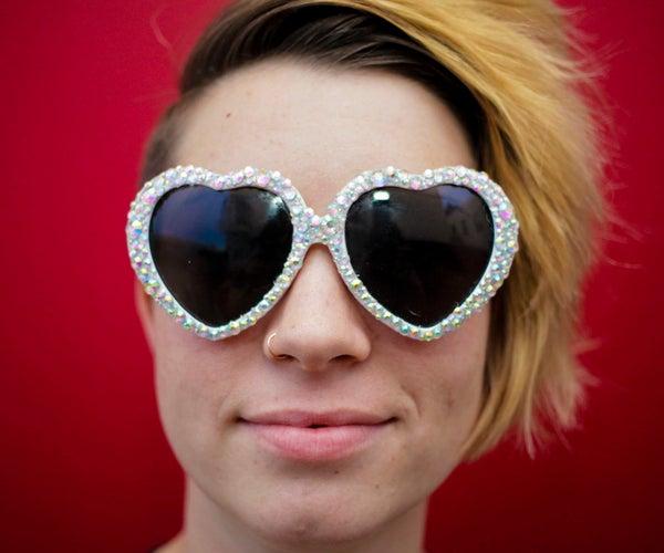 DIY Jeweled Sunglasses