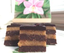 No Bake Chocolate Walnut Bars