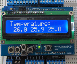 Temperature with DS18B20