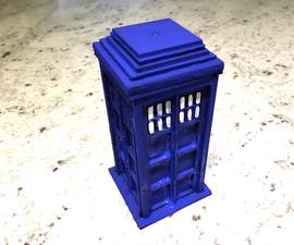 Laser Cut TARDIS