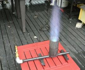 Build a Propane Jet Burner - Brewing, Seafood, Wok Burner