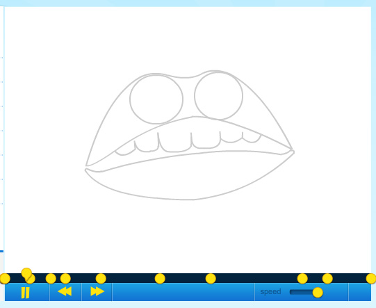 Picture of How to Draw a Lip