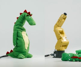 Dragon Costume for Industrial Robot