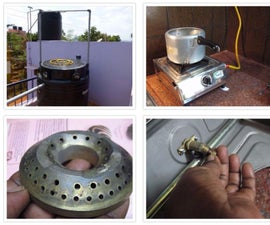How to Modify a Normal LPG Stove to Run on Biogas
