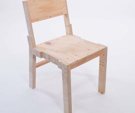 Open chair by James Tooze