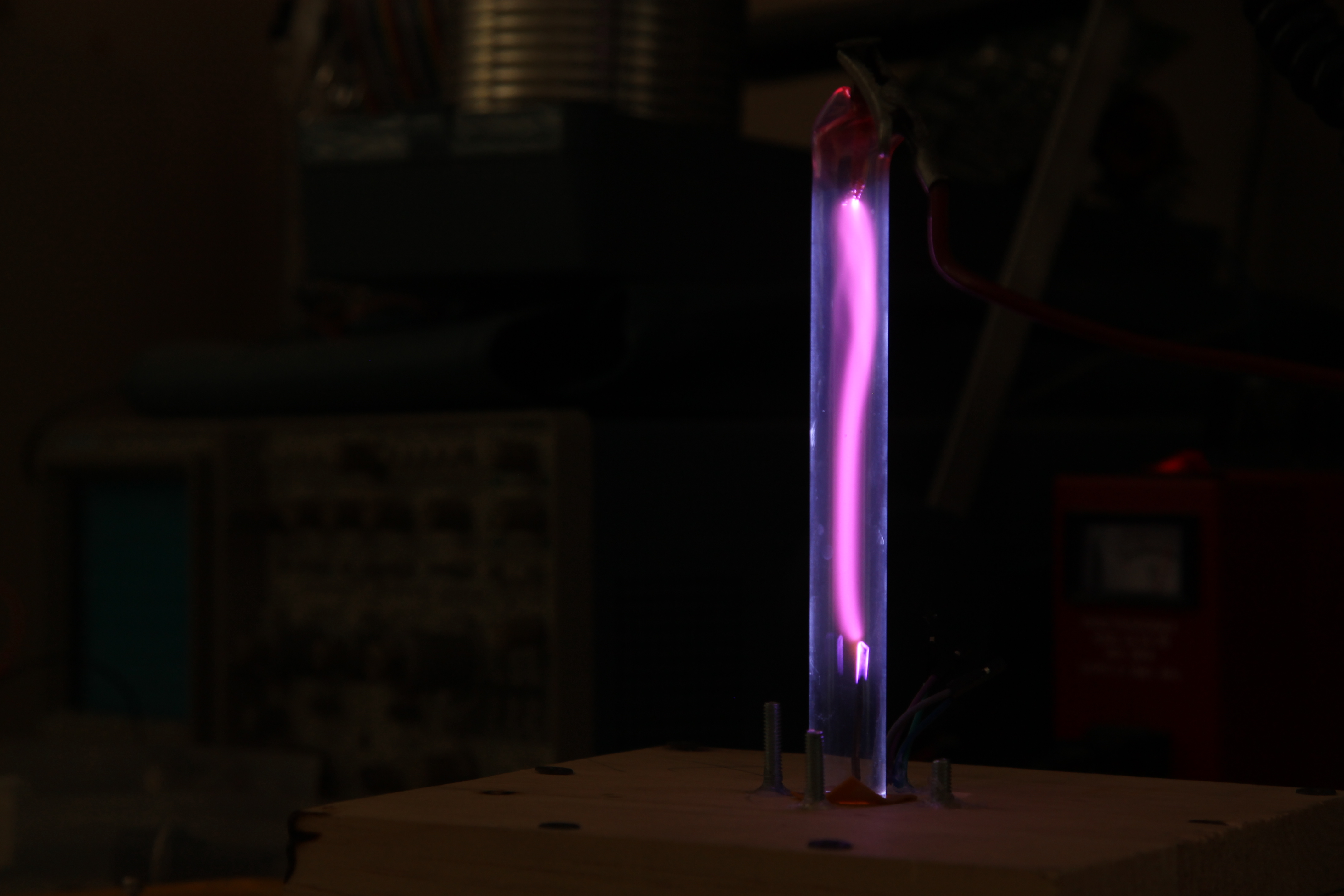 Picture of DIY Cathode Ray Tube: Interacting With Electrons
