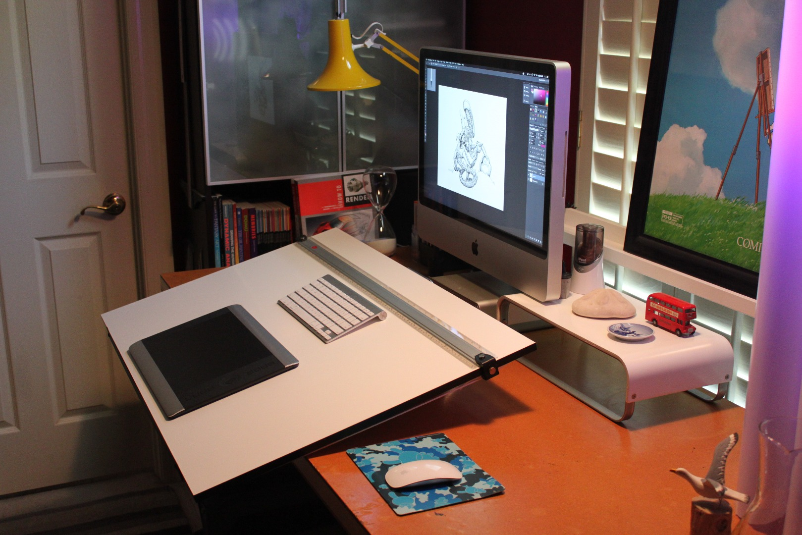Picture of Removable Drafting Table