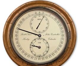 Arduino Perpetual Calendar Clock