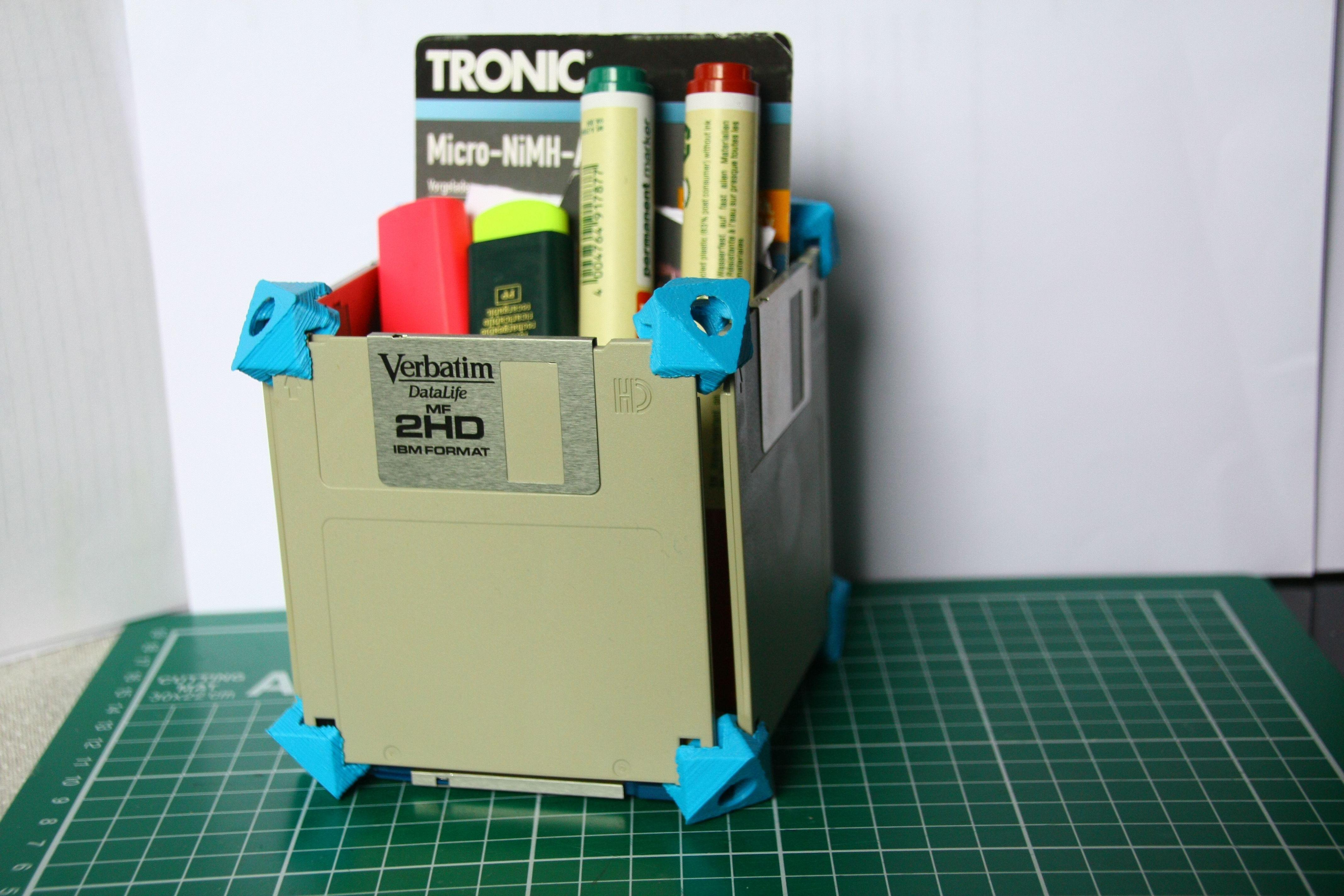 Picture of Floppy Disk Storage Case