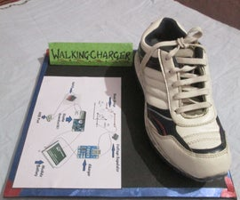 Charge Any USB device by just Walking..  !!