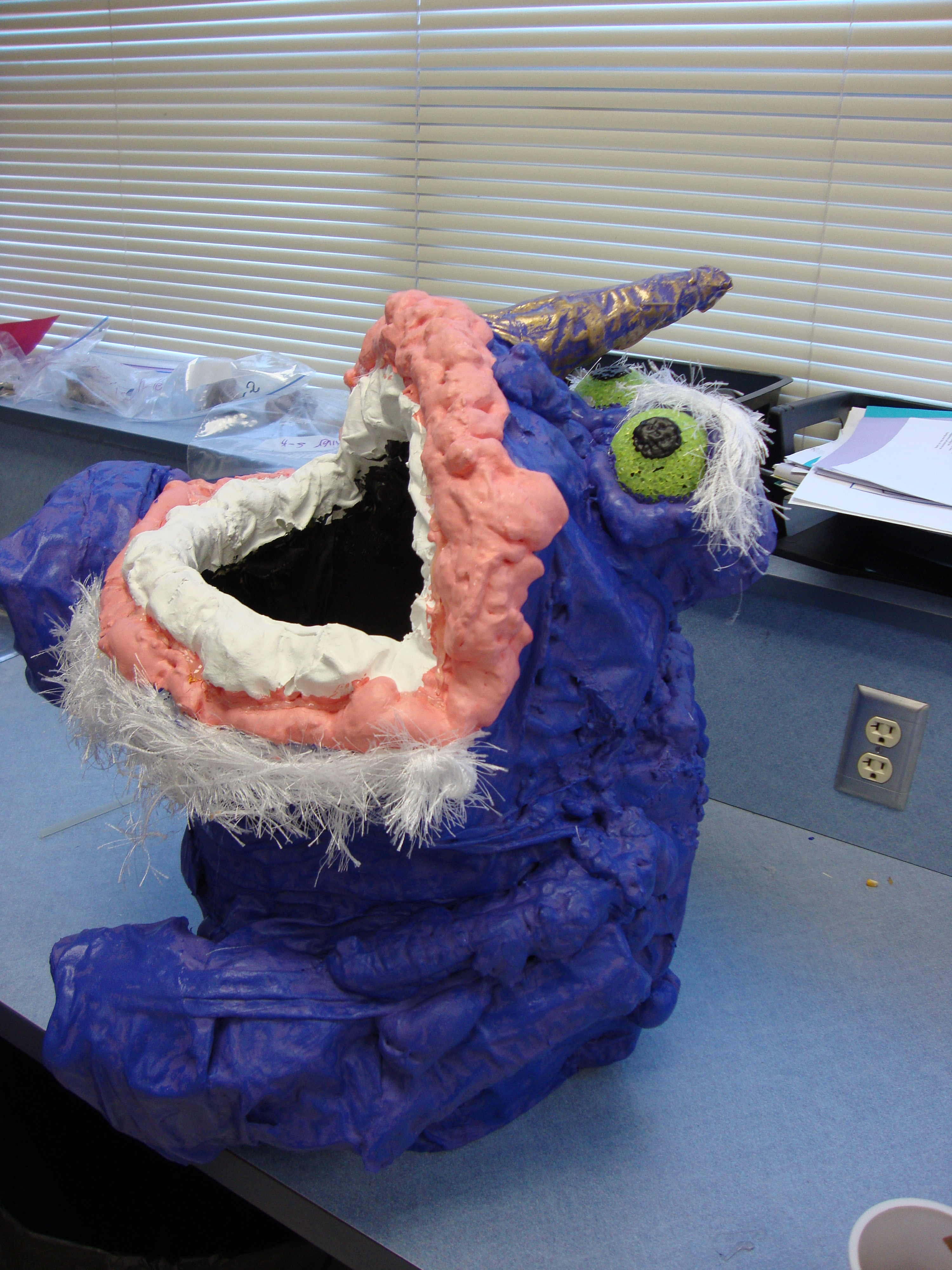 Picture of Purple Halloween Candy Monster
