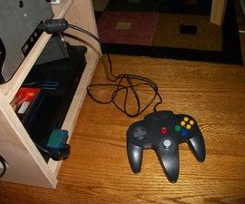 N64 flash drive controller