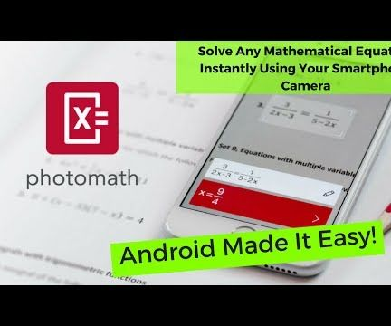 Solve Any Math Problem in Seconds Using Your Smartphone Camera