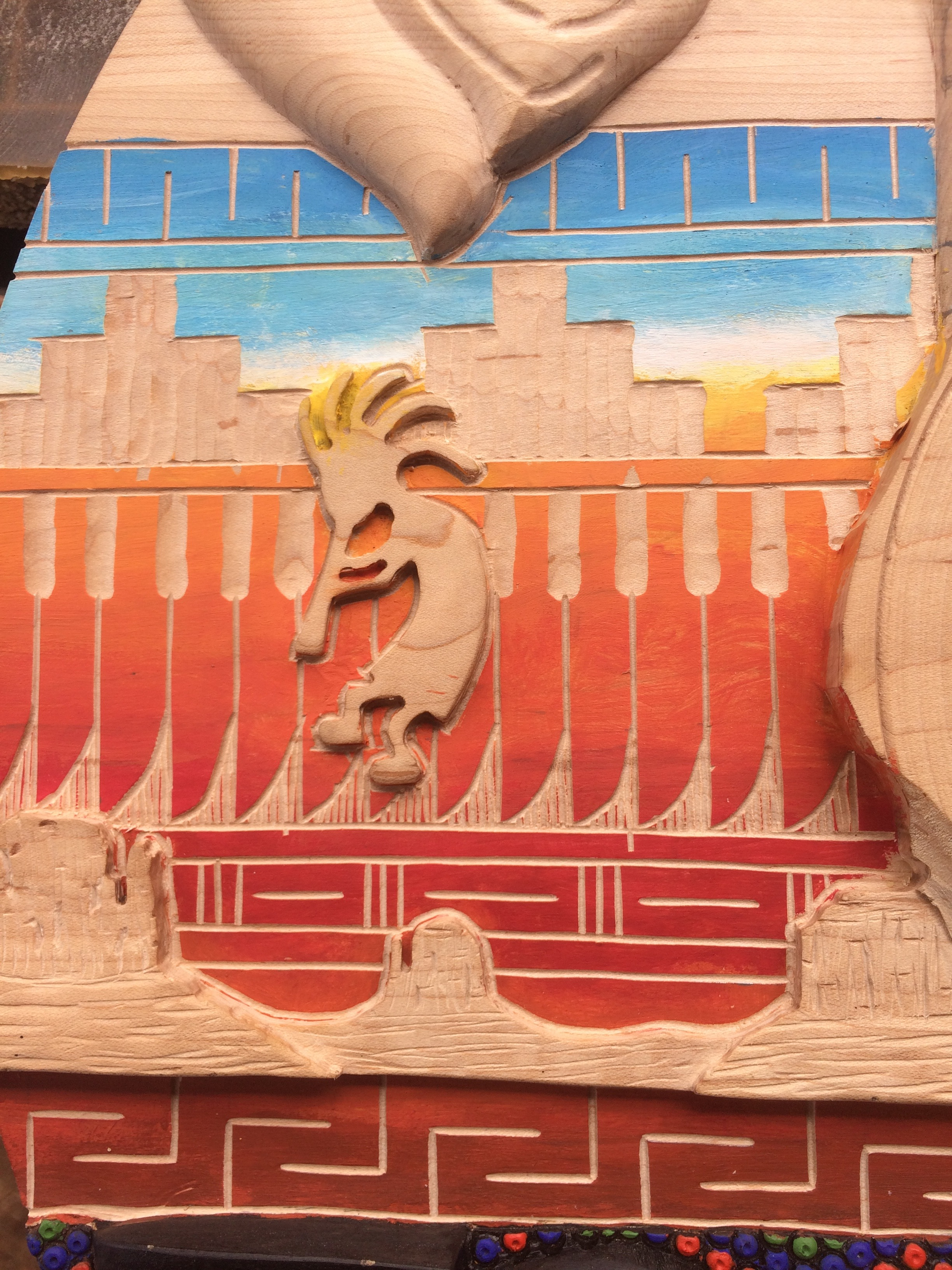 Picture of Relief Carving Navajo Style