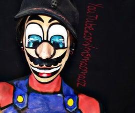 Mario Face Paint