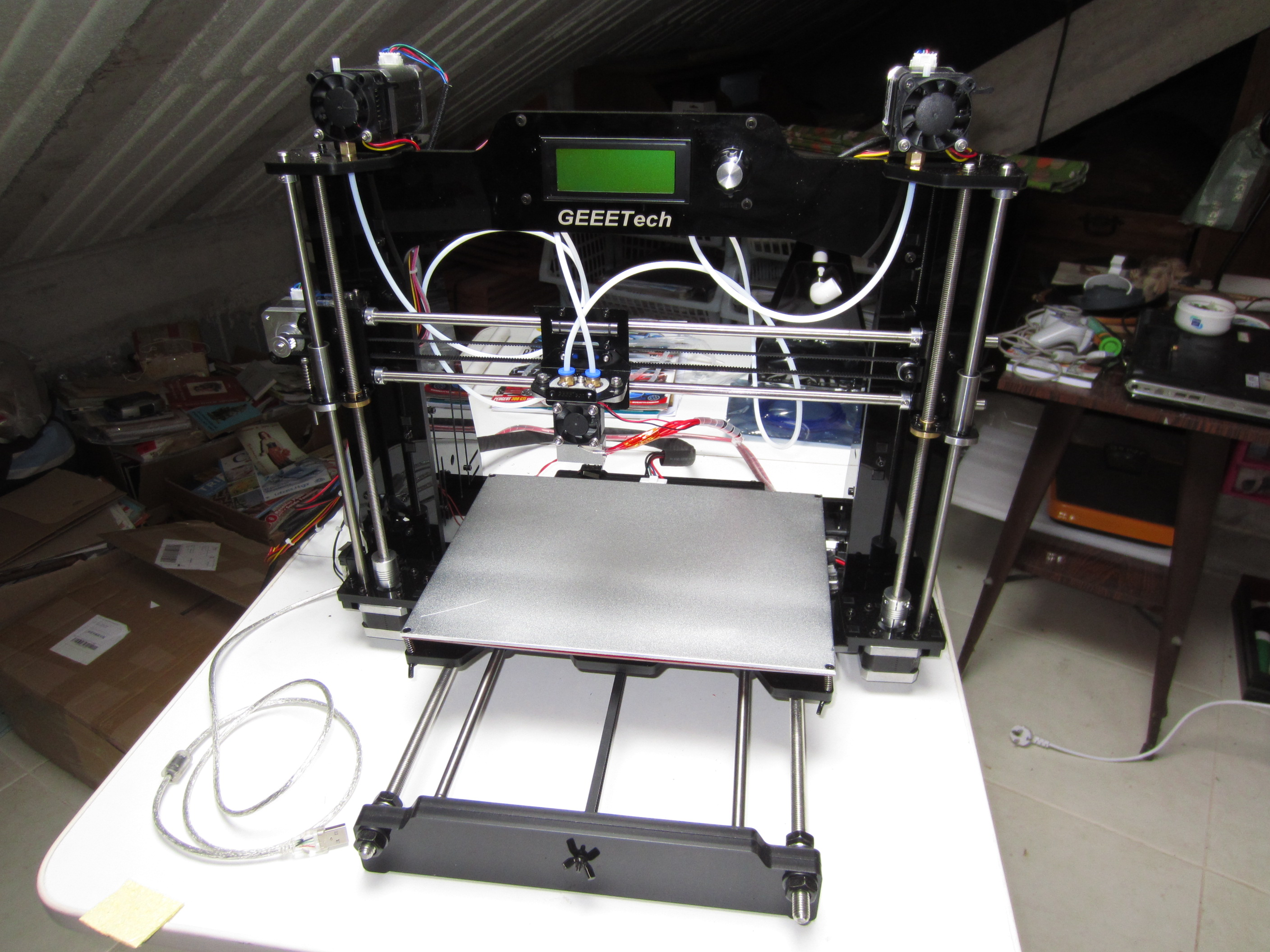 Picture of Geeetech M201 - Mix Your Prints!!