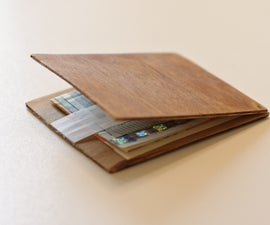 magic wood wallet