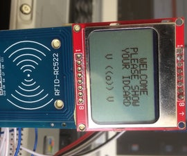 Arduino RFID and 5110 Screen/ID Card Reader(Rc522)