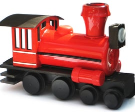 Make a loco from junk