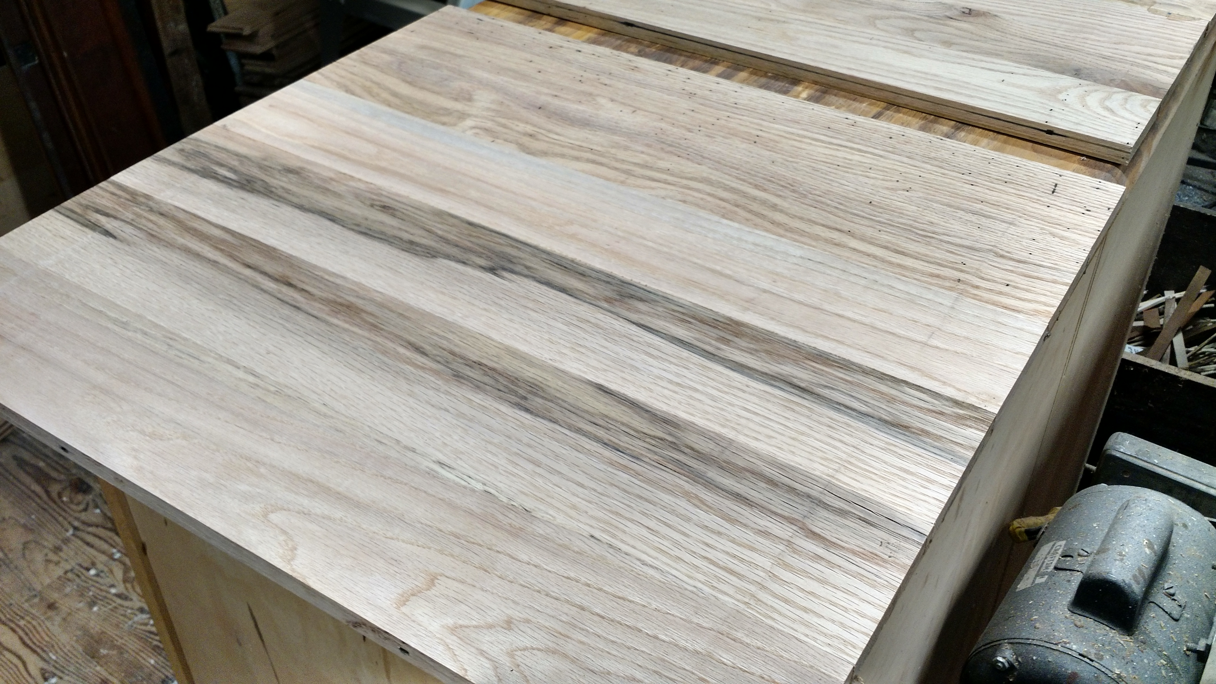 Picture of Planing Old Flooring Sux