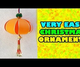 How to Make VERY EASY Christmas Ornaments