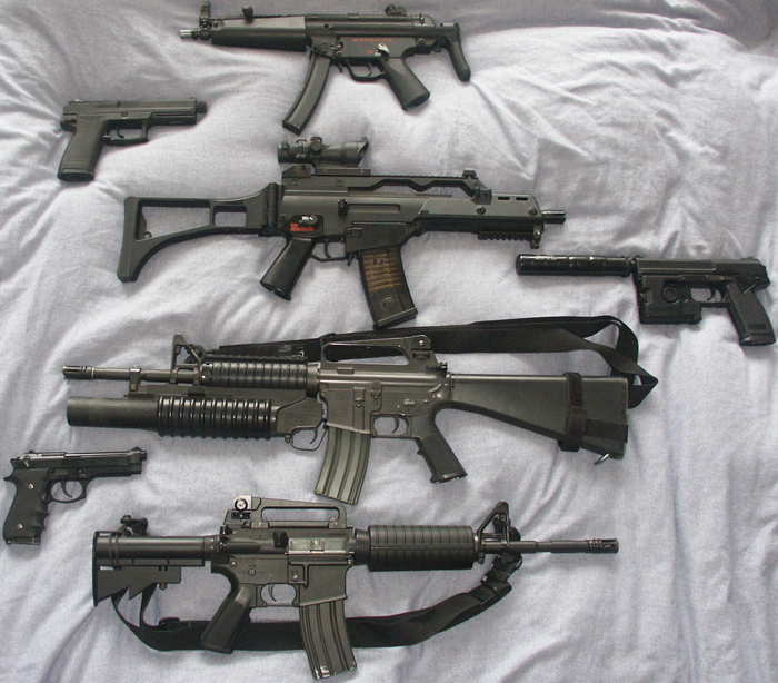 Picture of A Complete Airsoft Weapons' Guide