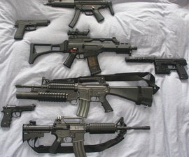 A complete airsoft weapons' guide