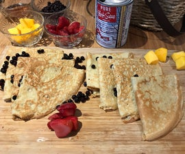 Gluten Free French Crêpes
