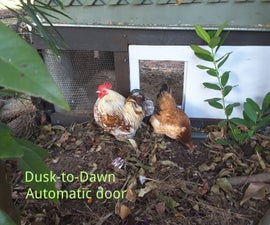 Dusk to Dawn - Automatic Chicken Coop Door