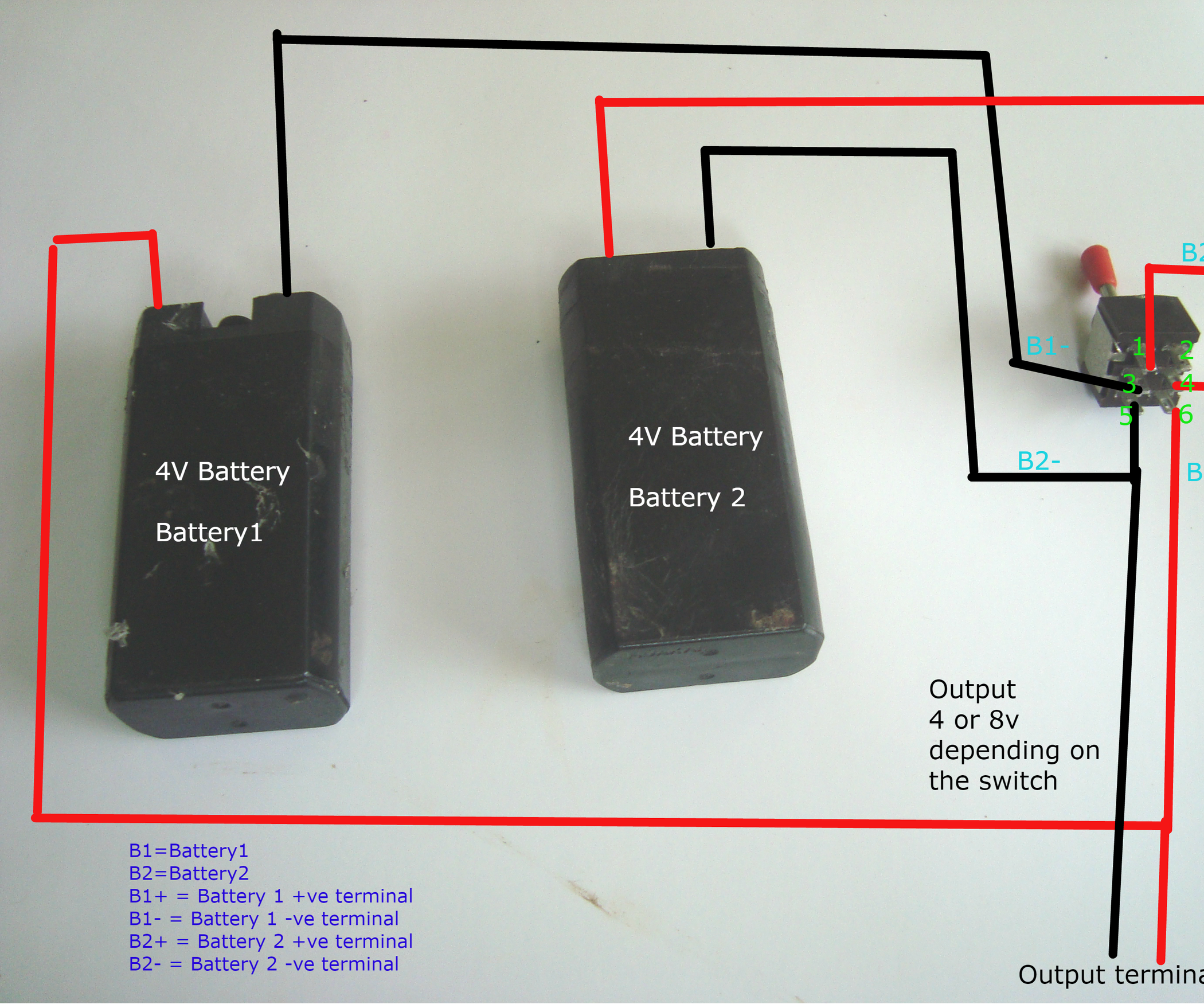 Battery Parallel, Series Switching: 3 Steps