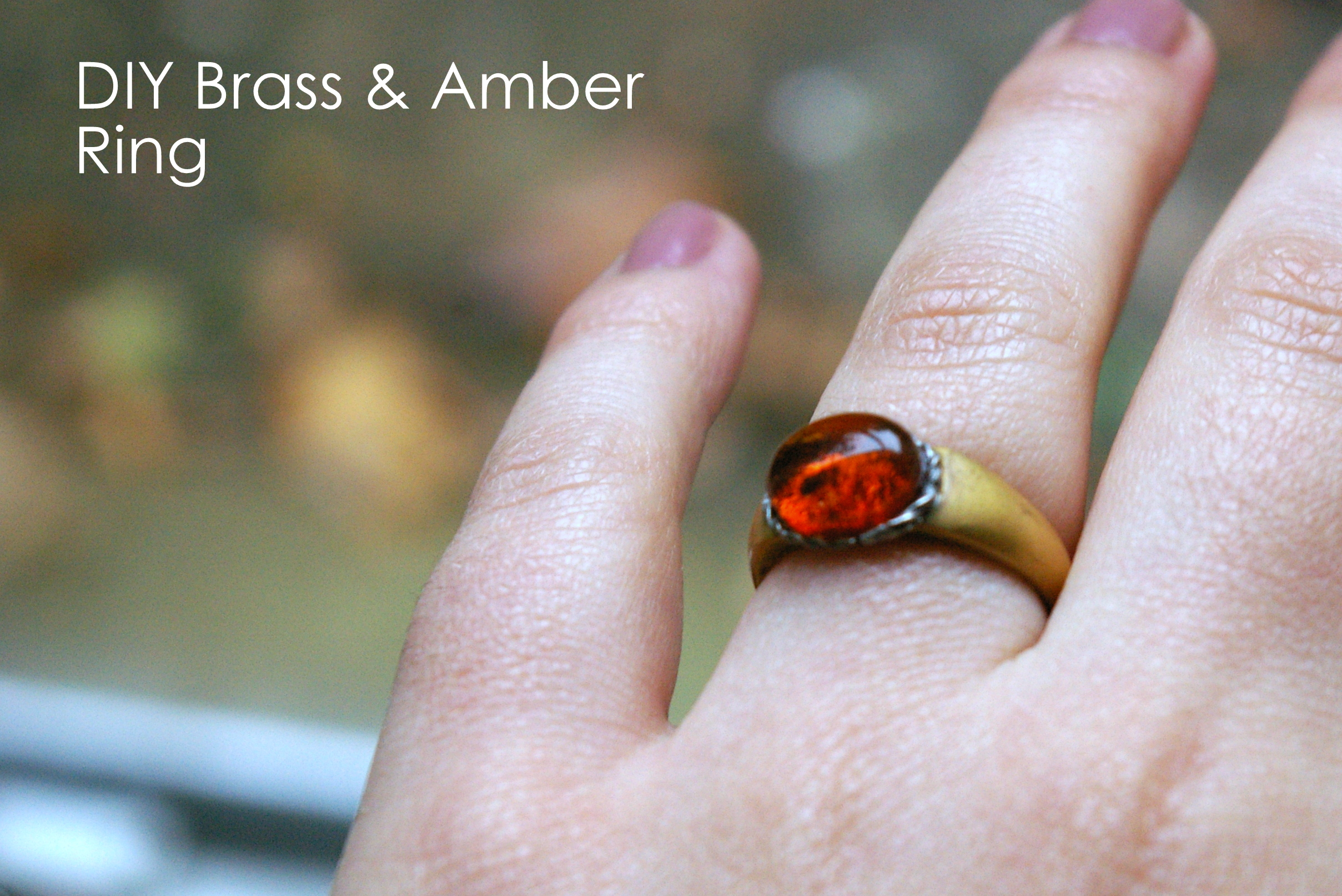 Picture of Amber Ring